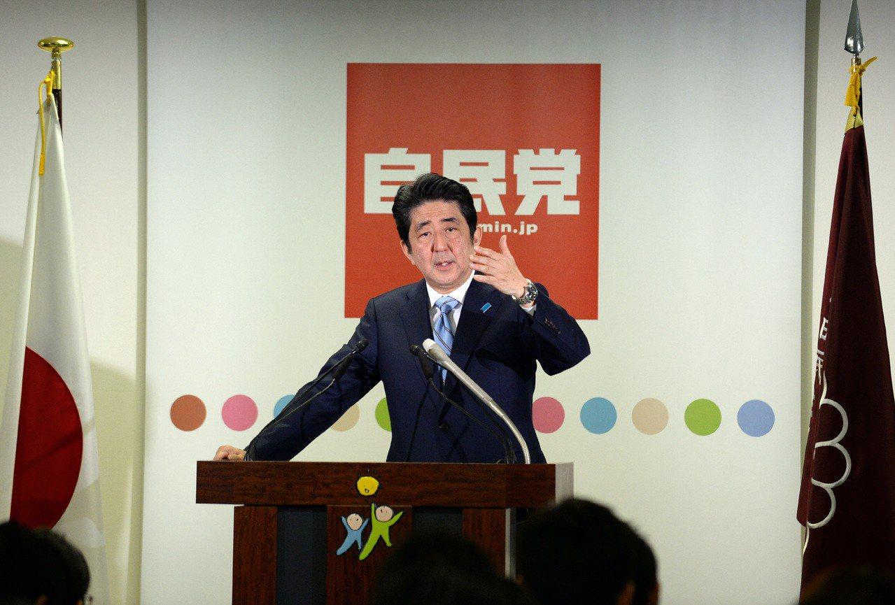 安倍晉三擔任自民黨總裁以來,打贏一次又一次的選戰。新華社