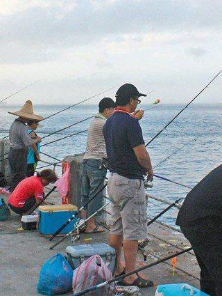 釣魚也穿救生衣?落海的求援策略