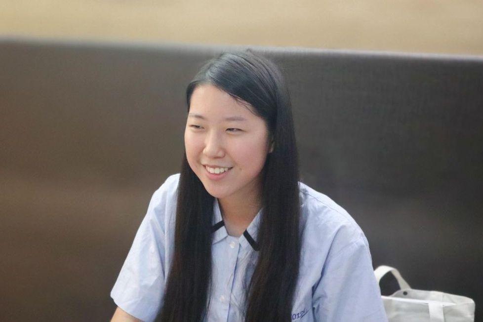 大理高中葛佳源同學未來想讀商管或法政。張瑋珊/攝影