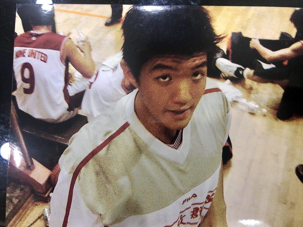 林恬耀年輕時曾是籃球員。圖/林恬耀提供