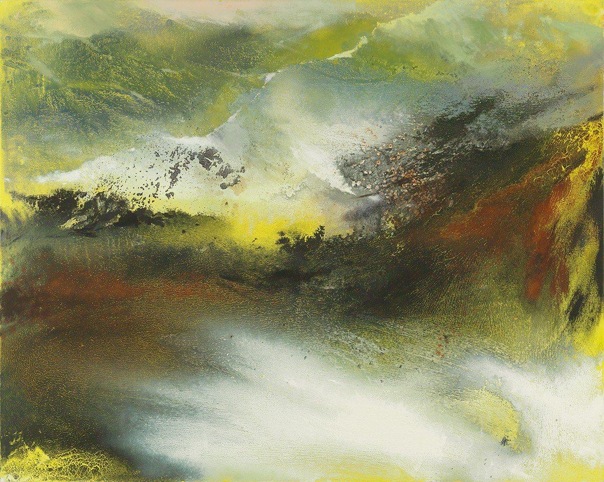 《嵐光拂嶺》。