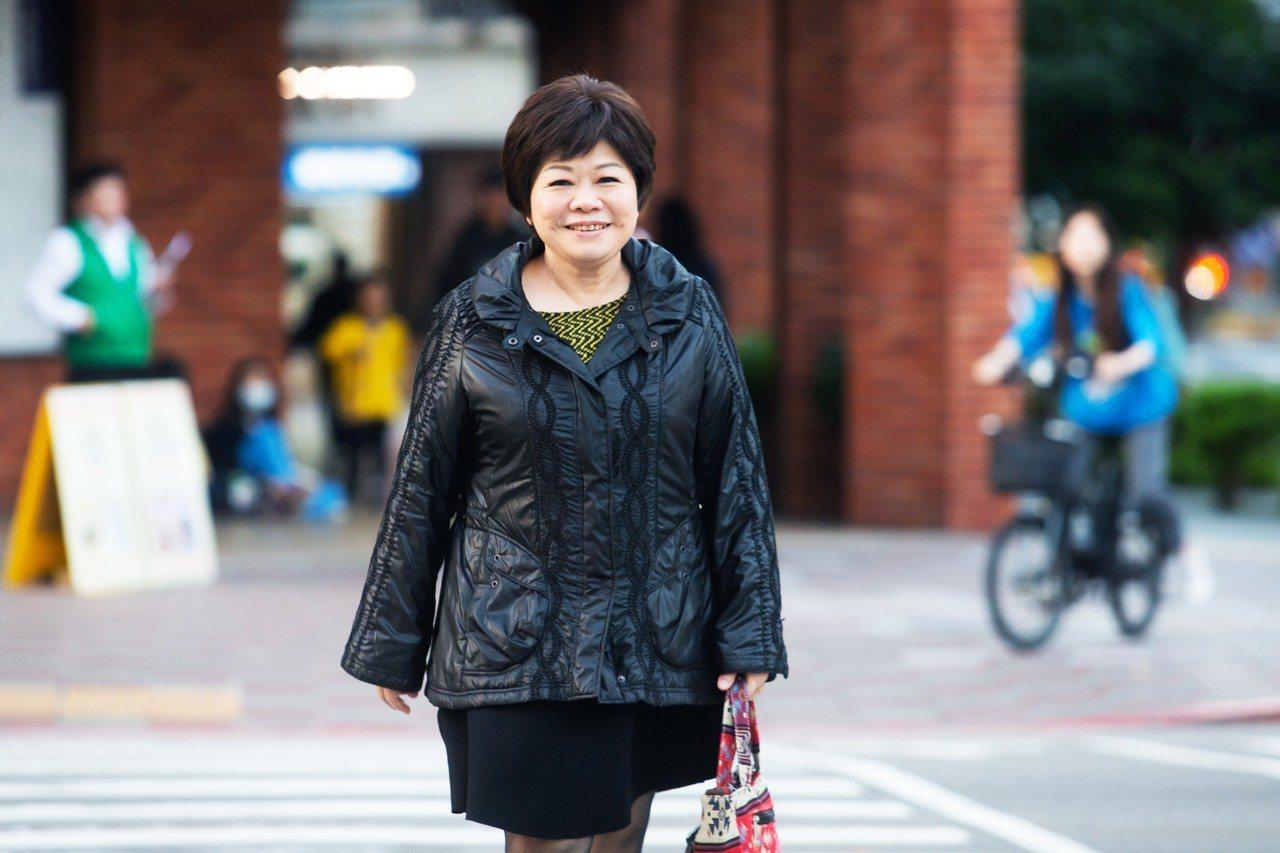 廖輝英分享如何在女兒、妻子、母親的角色裡掙扎與衡量。記者季相儒/攝影