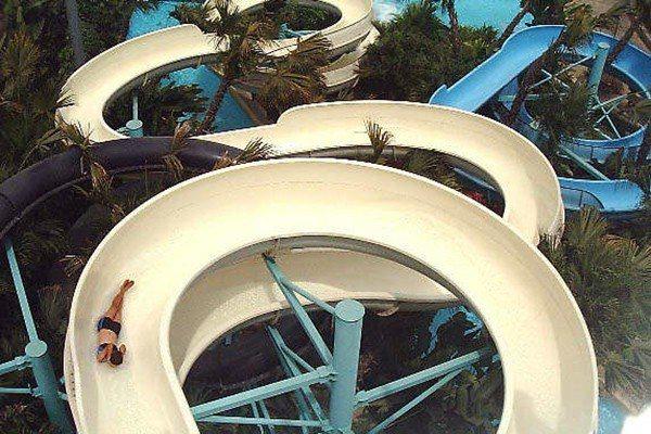 布魯樂谷滑水道。圖/聯合報系資料照