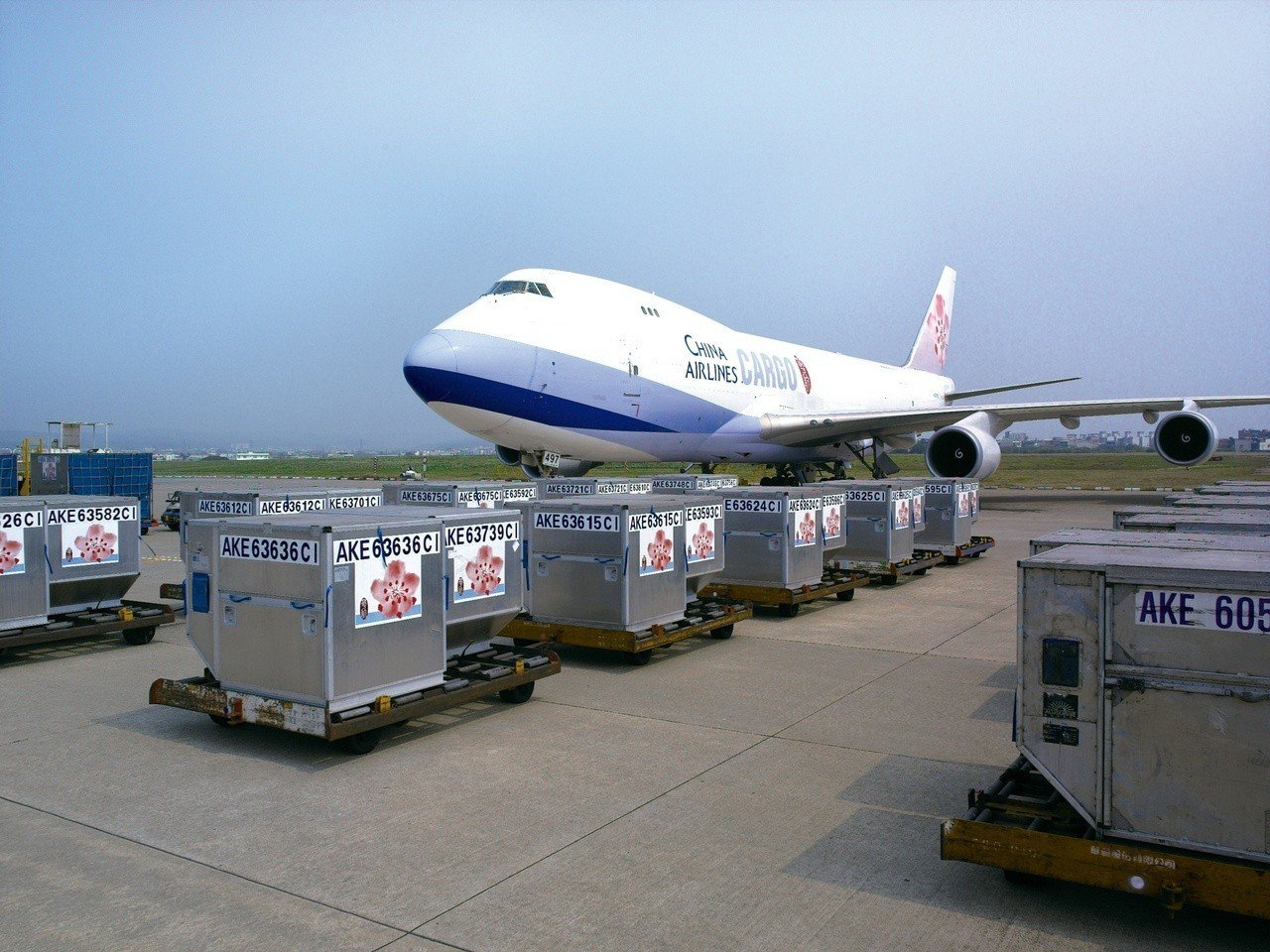 華航憑著貨運能量,在全球航空第二季財報中奪下獲利最多。圖/本報系資料照