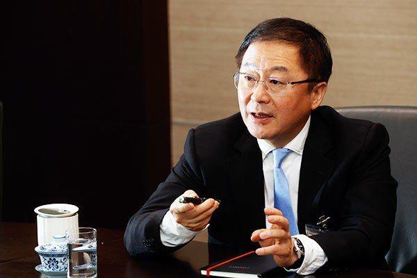 台達電基金會永續長周志宏表示,減碳已是企業必做的事。記者鄭超文/攝影