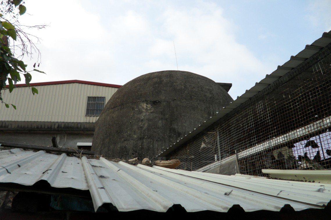 康朗段防空碉堡。圖擷自國家文化資產網