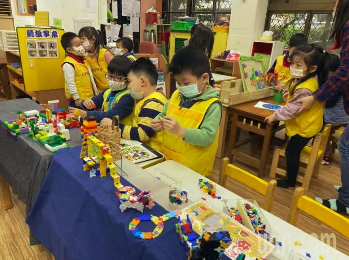古亭國小舉辦《台北市幼兒STEAM教案彙編成果輯》新書發表會。圖/聯合報系資料照