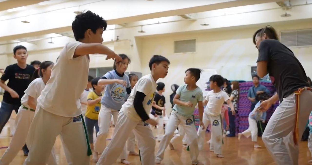 巴西戰舞課程。圖/加菲老師的卡波耶拉世界
