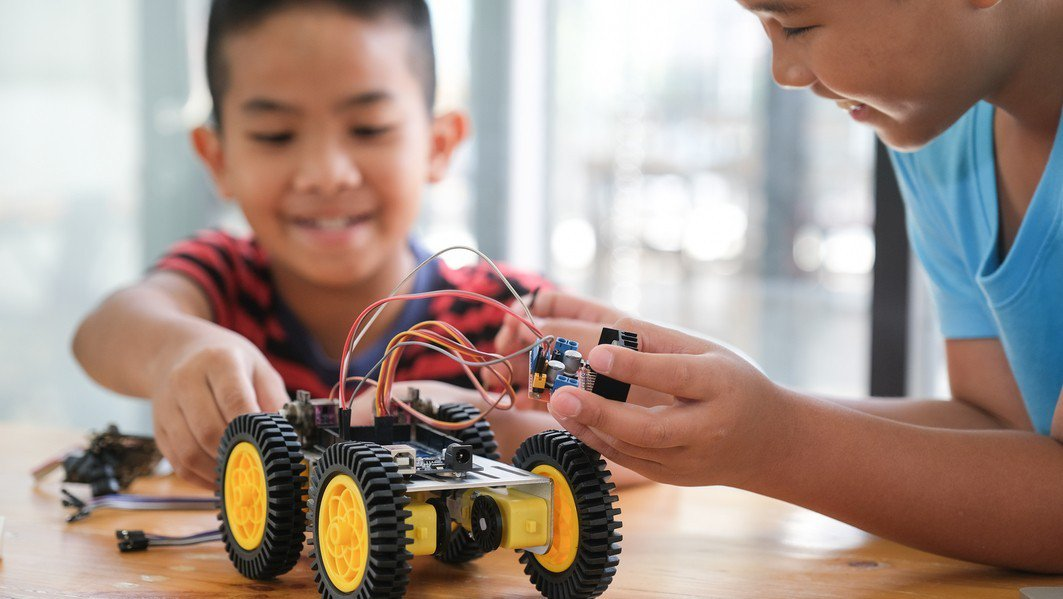 車車營隊讓孩子學機械原理的知識基礎。示意圖/ingimage