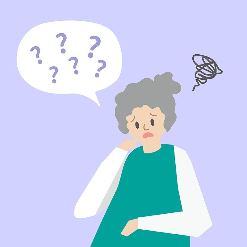 大部分失智症患者最易出現的症狀是記憶力退化。