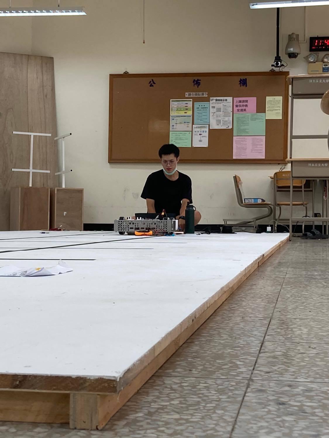 屏東大學智慧機器人學系大四學生馮柏勛。圖/馮柏勛提供