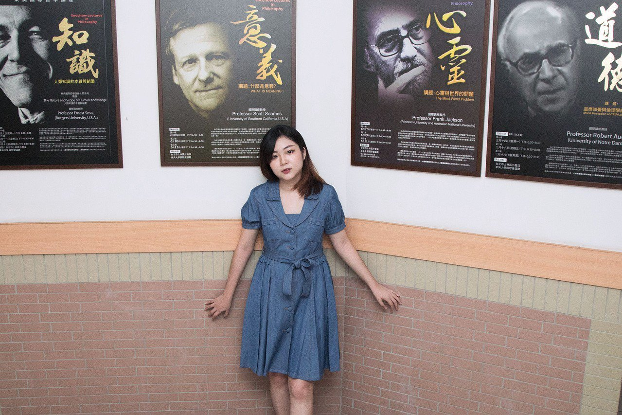 社會系的老師、同學理解黃靖茹的處境,給予她安全感。