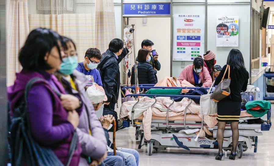 流感延燒/還有上千病床? 醫護打臉:不是有效床位