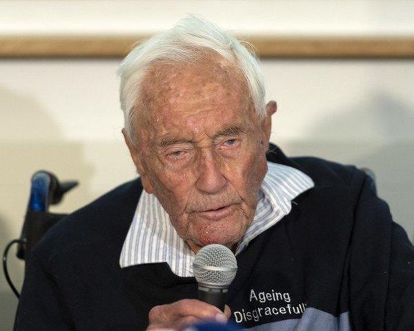 「我很不快樂,我想死」104歲科學家古道爾也在瑞士安樂死