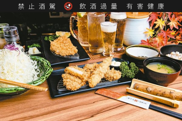 勝博殿新吃法!日式豬排配清酒