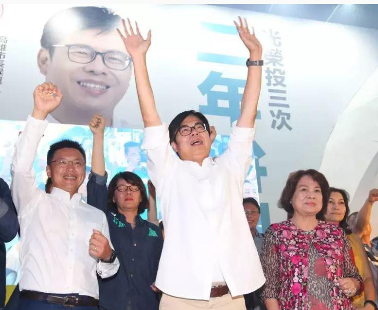 67萬票當選高雄市長 陳其邁高喊4優先:引擎已經發動