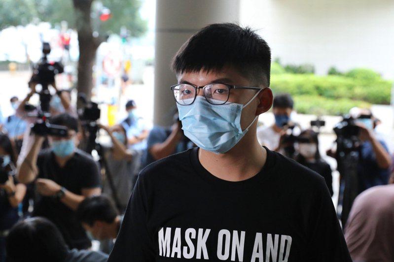 前香港眾志祕書長黃之鋒。(中通社資料照片)