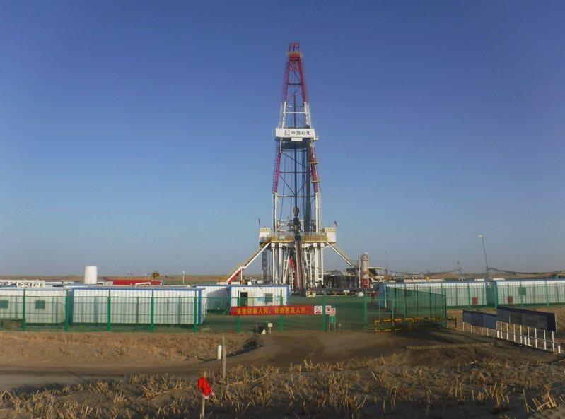 順北油氣田位於新疆阿克蘇地區和庫爾勒地區交界處。(取材自澎湃新聞)