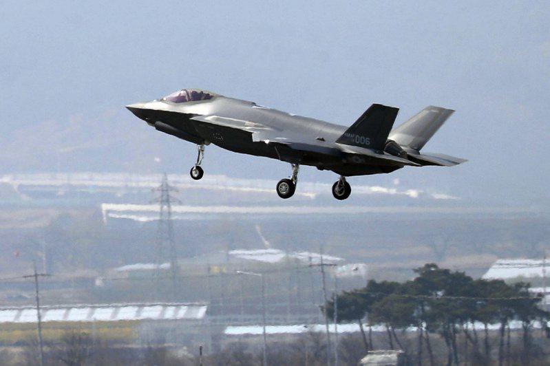 原本要賣給土耳其的F-35隱形戰機,被宿敵希臘買走了。(美聯社)