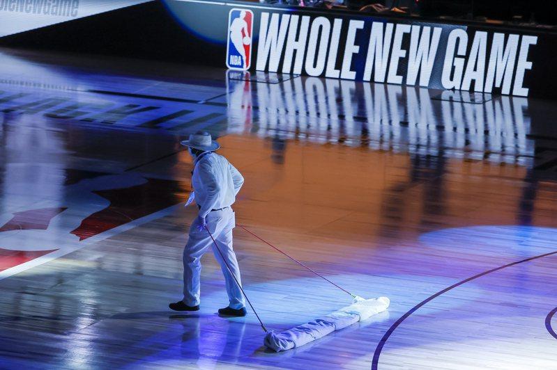 NBA球員本周末起天天接受檢測。 歐新社