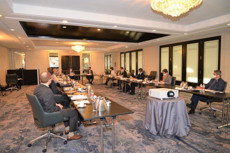 台美經濟繁榮夥伴對話在華府四季酒店登場。(台駐美代表處提供)