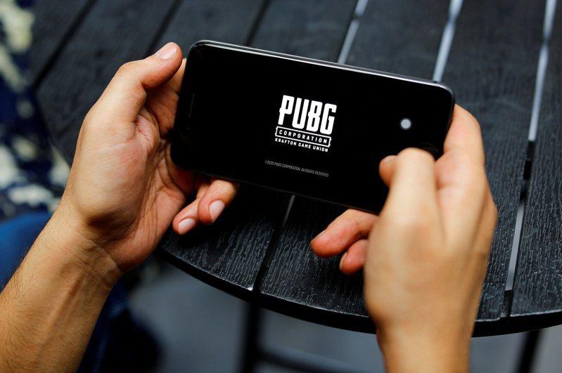 面對印度大舉封鎖中國App,騰訊將「絕地求生」(PUBG Mobile)的發行權歸還給南韓開發企業。(路透)