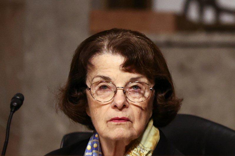 现年87岁的加州民主党资深联邦参议员范士丹被传出「短期记忆很差」。路透(photo:UDN)