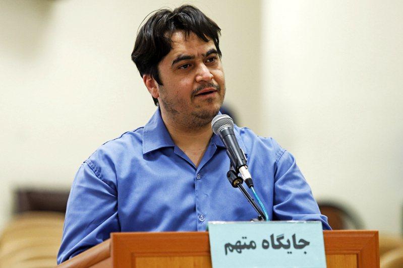 伊朗異見記者薩姆12日遭絞刑處決。(美聯社)