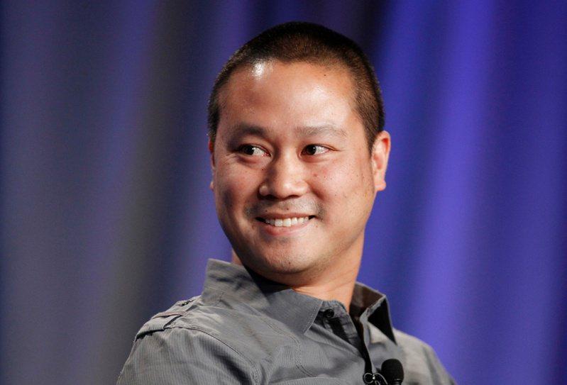 华裔创业家谢家华生前予人阳光形象,未料在人生晚期为毒瘾所苦。(路透)(photo:UDN)