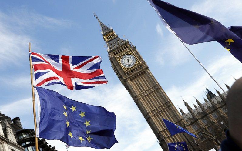 歐盟與英國努力磋商脫歐後貿易協議,好消息是歧見從3個縮減至2個。(美聯社)