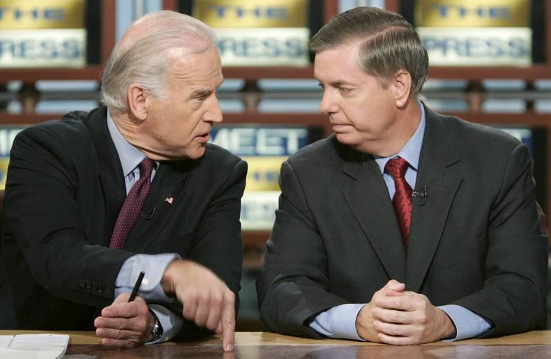 共和党国会参议员葛理汉曾与拜登私交甚笃,但迄今未承认拜登胜选。(路透)(photo:UDN)