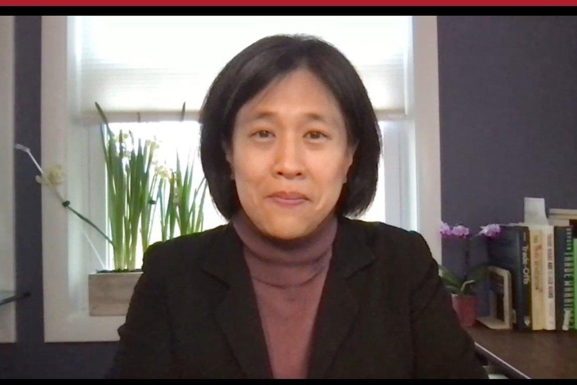 貿易代表提名人戴琪:拜登貿易政策要務 抗中國不公平舉措