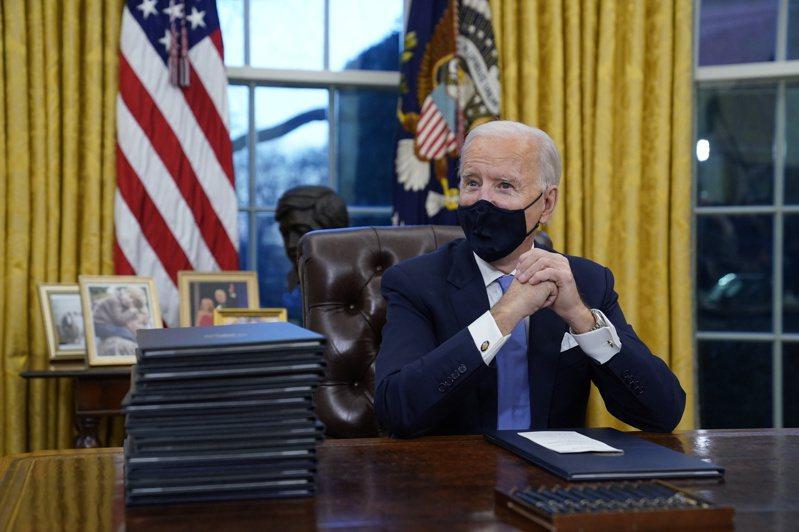 美國總統拜登本周將發表新氣候政策,並要求中國更加努力解決氣候變遷問題。(美聯社)