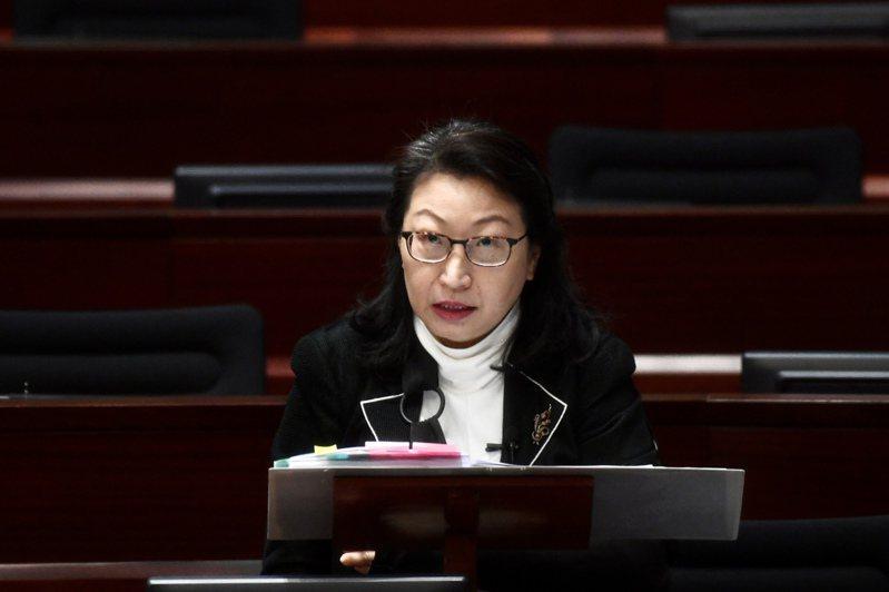 律政司司長鄭若驊。(中通社資料照片)