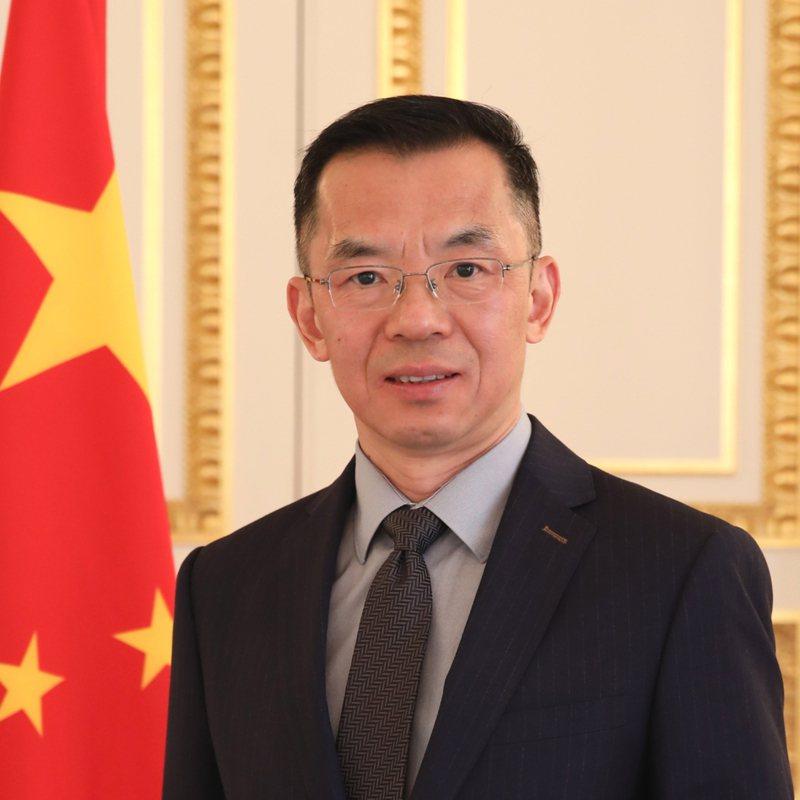 圖為中國駐法國大使盧沙野。圖/取自中國駐法國大使館官網