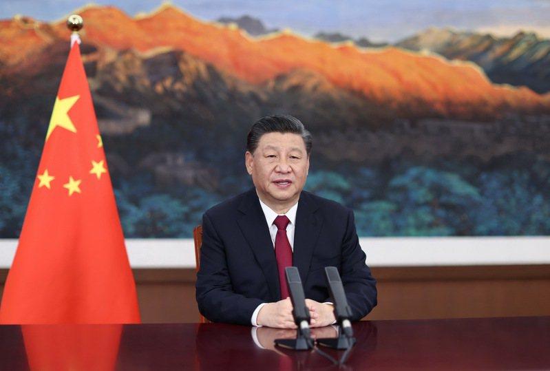 中國國家主席習近平20日以視頻方式在博鰲亞洲論壇發表演講。(新華社)