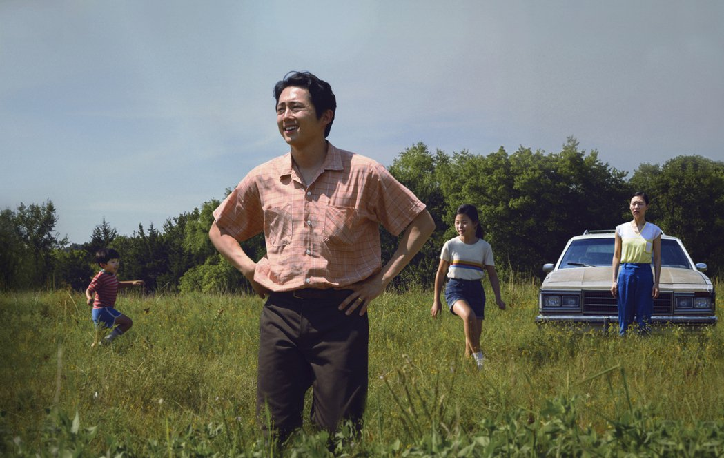 韓裔影星史蒂芬‧連以電影「夢想之地(Minari)」入圍奧斯卡最佳男主角;圖為該