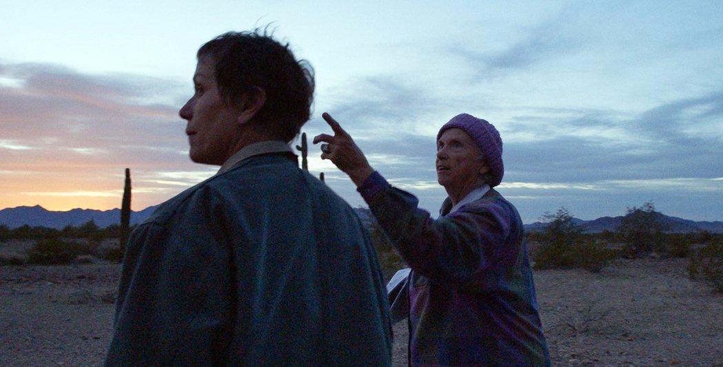 華裔導演趙婷執導的「無依之地(游牧人生)」奪下第36屆獨立精神獎的最佳影片;圖為