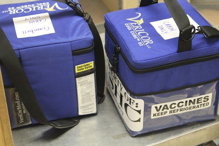 輝瑞製藥正在提升研發新疫苗,同時改善冷藏貯存抜術。(美聯社)