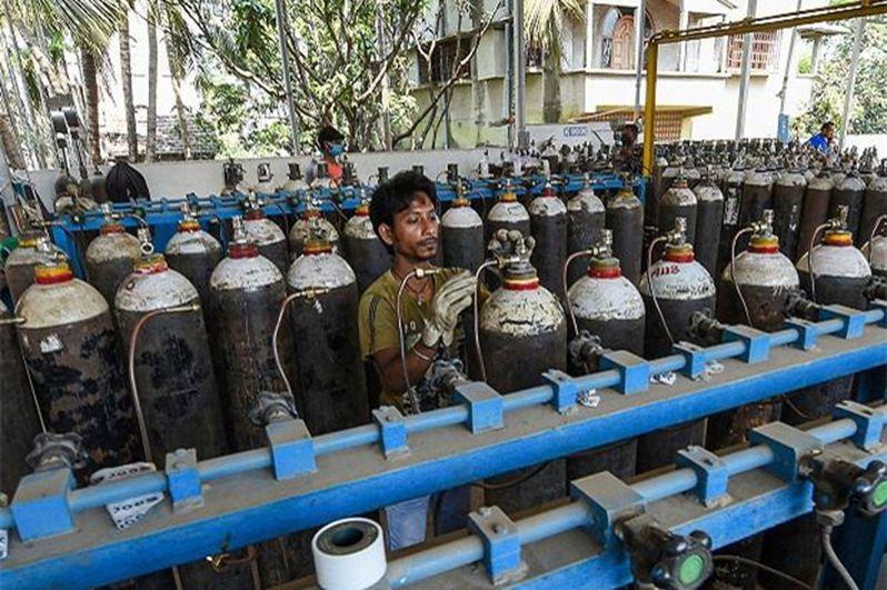 印度當前面臨氧氣緊缺。(取材自環球網)