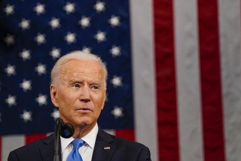 美國總統拜登執政百日,環球時報28日發表社評,稱拜登延續前任對華政策是主調。(歐新社)