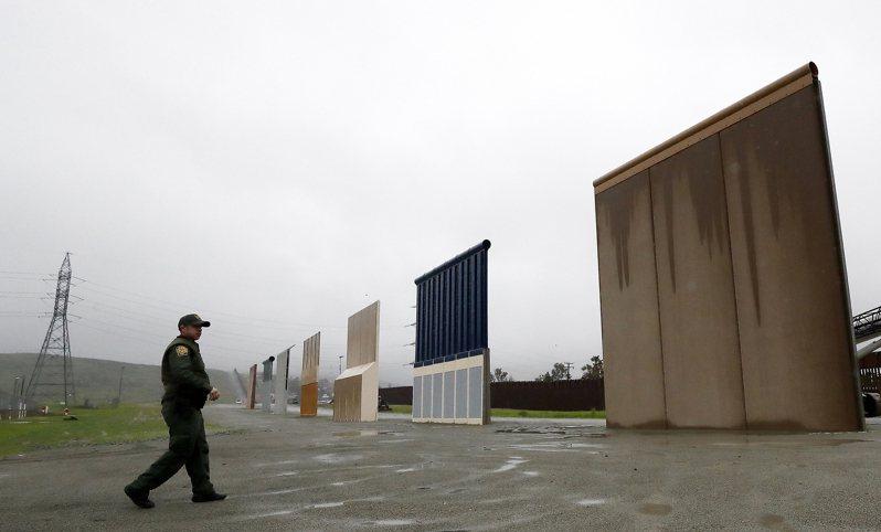 拜登政府決定停止建造川普時代開始的美墨邊牆,原有挪自軍方的建牆經費,全部退回國防部。(美聯社)