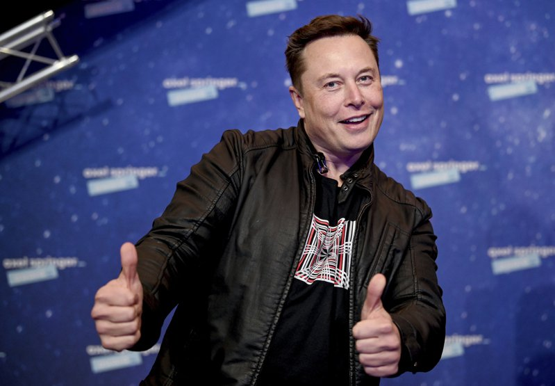 SpaceX創辦人馬斯克。美聯社