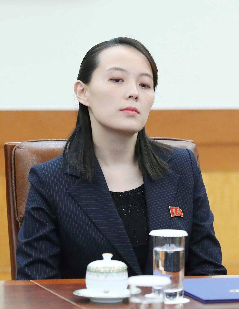 金與正痛斥「脫北者」日前再次向北韓散布傳單。(路透資料照片)