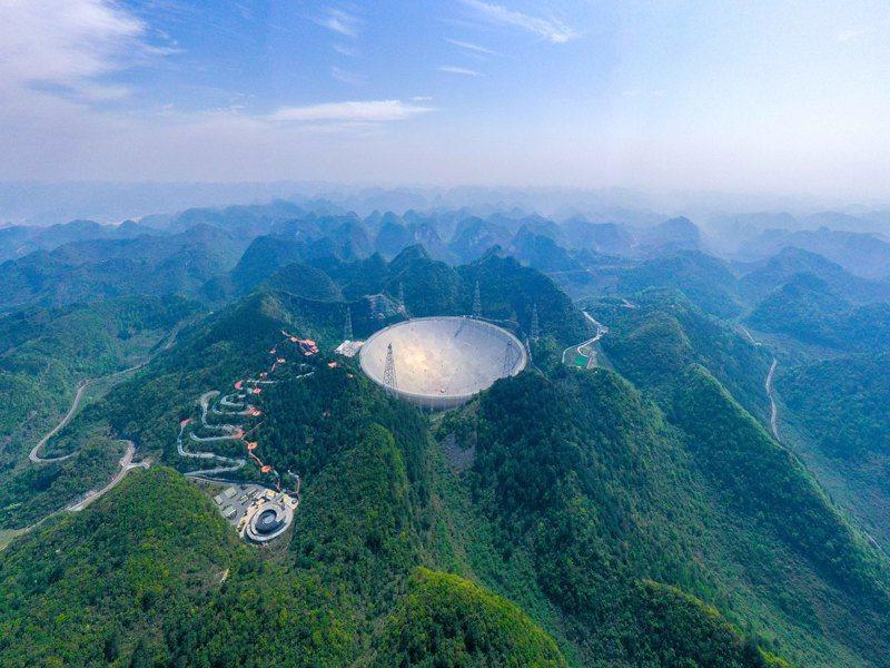 「中國天眼」於2021年3月31日正式對全球開放。(新華社)