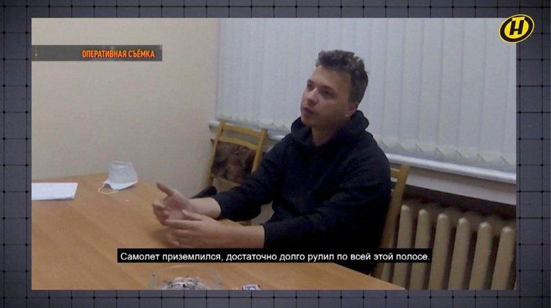 白俄羅斯異議記者普羅塔塞維奇3日在白俄國營電視台節目中「認罪」,不過其家人認為他是「在脅迫下發言」。路透