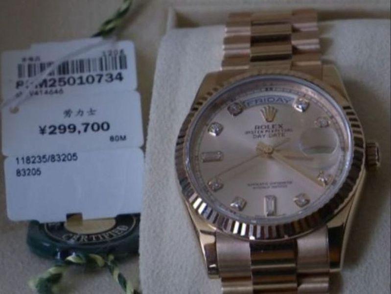 南京李女士花30萬人民幣買了一塊勞力士「庫存表」。(取材自正觀新聞)