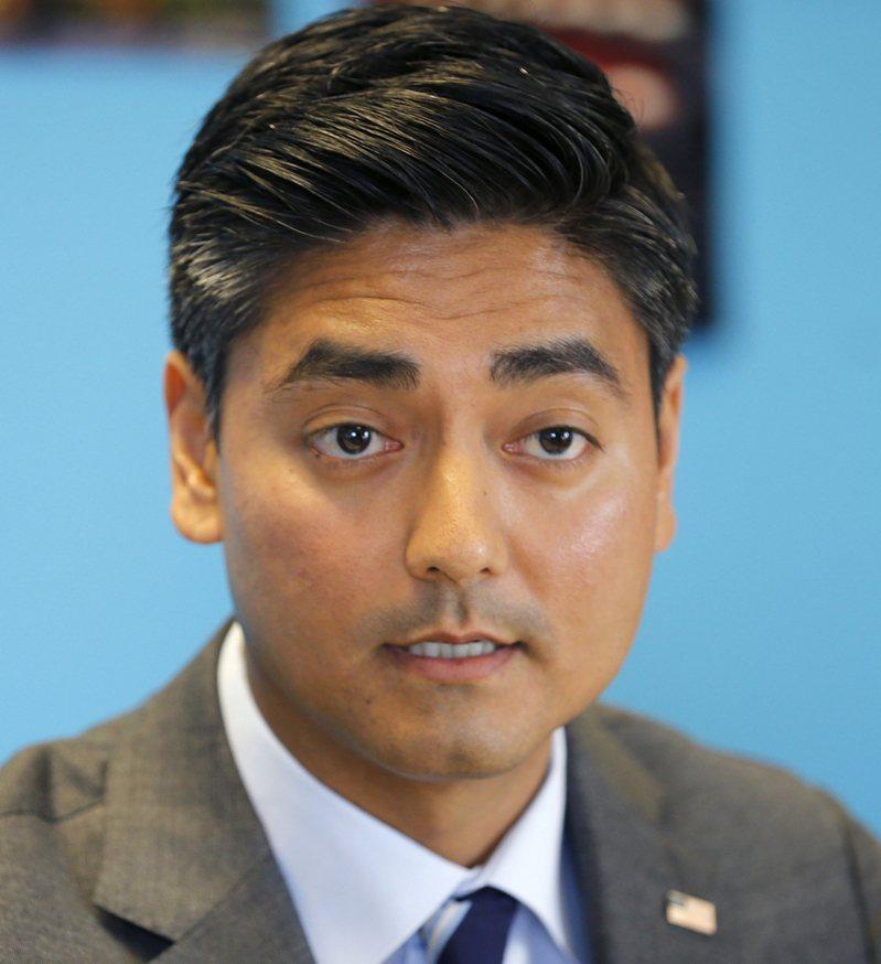 38岁的普雷瓦尔是辛辛那提市长候选人,该市亚太裔人口仅略高于2%。(美联社)(photo:UDN)
