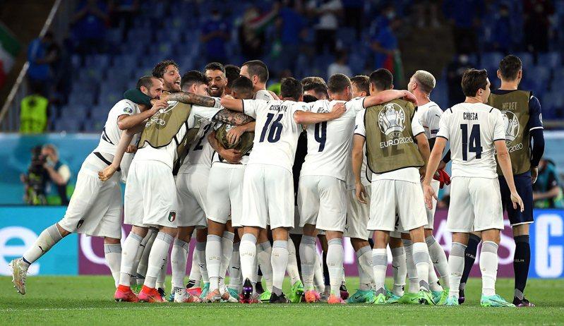 義大利在歐洲盃首役完封土耳其。 歐新社