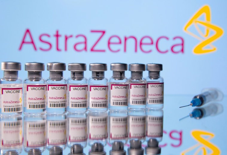 研究顯示,輝瑞疫苗與AZ疫苗,都能有效抵抗變種新冠病毒。 路透
